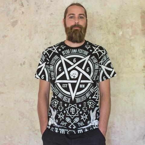 √Occult Allover von Mera Luna Festival - T-shirt jetzt im Mera Luna Shop