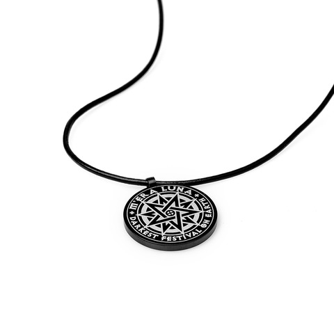 √The Darkest Festival on Earth von Mera Luna Festival - Pendant with leather band jetzt im Mera Luna Shop