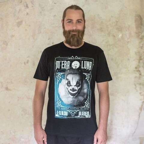√Clown Frame von Mera Luna Festival - T-Shirt jetzt im Mera Luna Shop