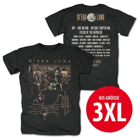 √Zeitenwende von Mera Luna Festival - T-Shirt jetzt im Mera Luna Shop