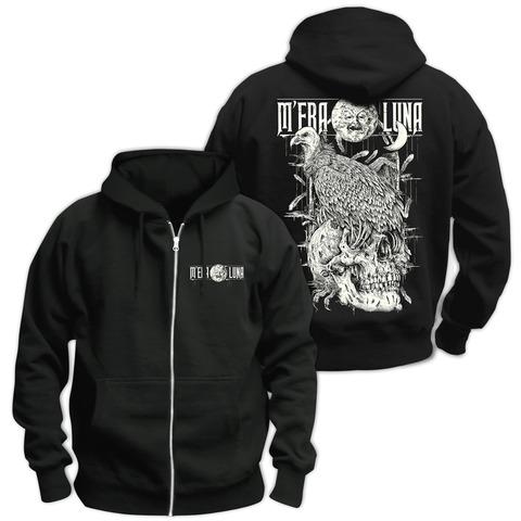 √Vulture Skull von Mera Luna Festival - Hooded jacket jetzt im Mera Luna Shop