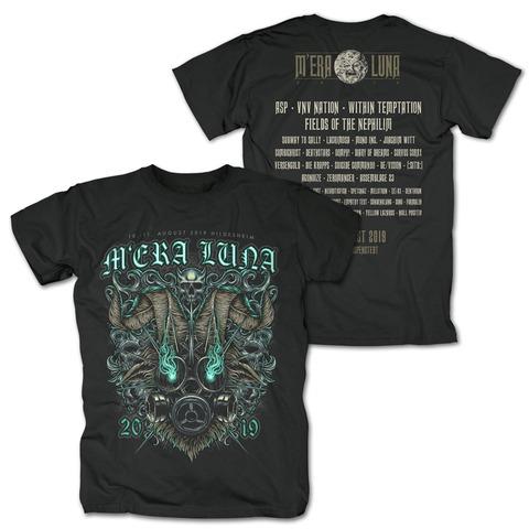 √Messed Up von Mera Luna Festival - T-Shirt jetzt im Mera Luna Shop