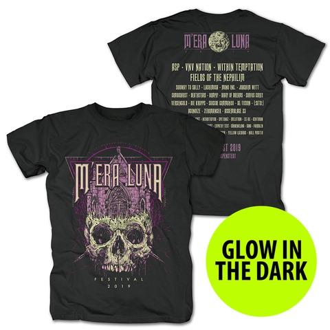 √Skull Church von Mera Luna Festival - T-Shirt jetzt im Mera Luna Shop