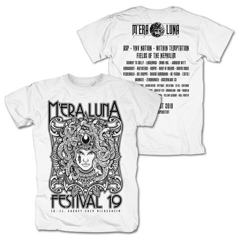 √Medusa von Mera Luna Festival - T-Shirt jetzt im Mera Luna Shop