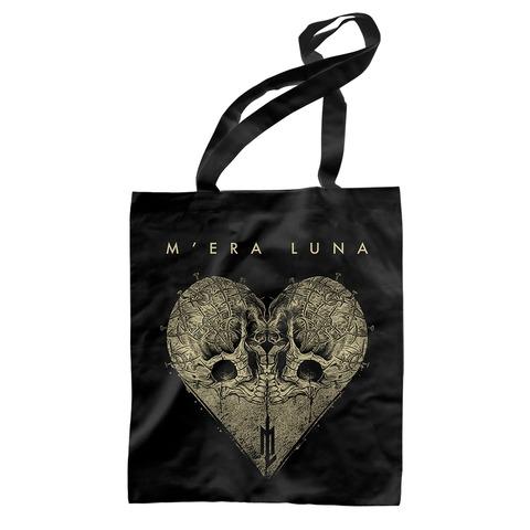 √Skull Heart von Mera Luna Festival - Record Bag jetzt im Mera Luna Shop